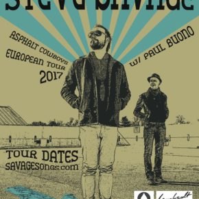 Paul Buono touring with Steve Savage in Europe